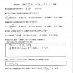 札幌本部で車検を受けたmyhiroさんの声
